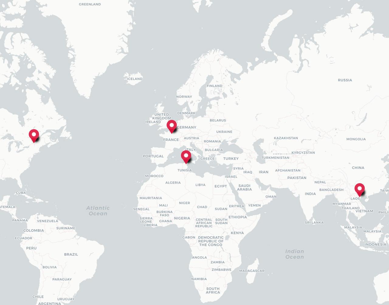 LINAGORA maps
