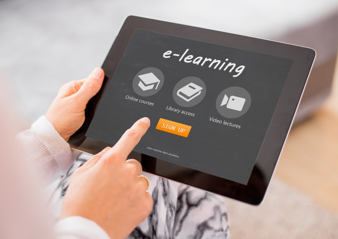 learning-on-tablet